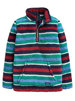 joules-boys-woozle-fleece-half-zip-jacket-navy