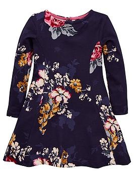 joules-girls-30th-anniversary-floral-jersey-dress-navy