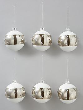 white-amp-silver-glass-christmas-tree-baubles-set-of-6