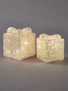 battery-operated-glitter-gift-box-christmas-decorations-set-of-2