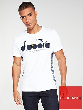 diadora-5palle-offside-taped-t-shirt-white