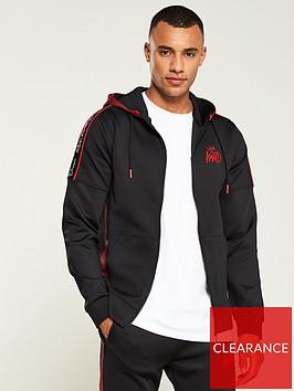 kings-will-dream-manse-zip-through-hoodie-blackred