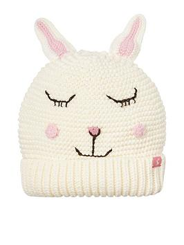 joules-girls-chummy-bunny-knitted-hat-cream
