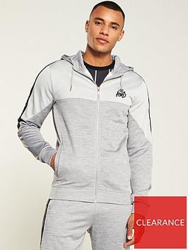 kings-will-dream-paton-zip-through-hoodie-grey