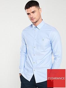 ted-baker-long-sleeved-branded-tape-shirt-light-blue