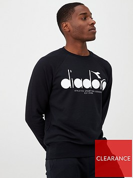 diadora-5palle-crew-neck-sweat--nbsp-black