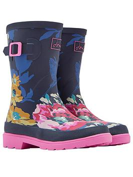 joules-girls-30th-anniversary-floral-welly
