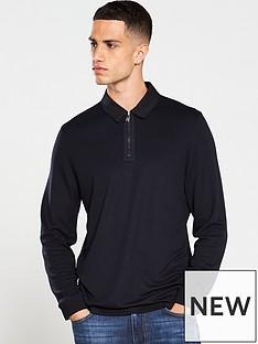 ted-baker-long-sleeved-polo-shirt-navy