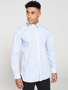 ted-baker-hexagon-micro-pattern-endurance-shirt-blue