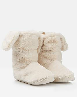 joules-girls-padabout-bunny-slipper-boots-cream