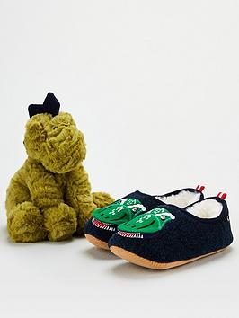 joules-boys-dino-slipper-and-toy-gift-set