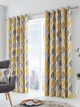 fusion-lennox-lined-eyelet-curtains