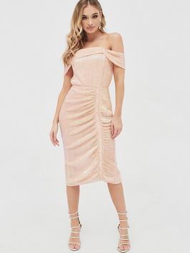 lavish-alice-off-shoulder-sequin-ruched-midi-dress-light-pink
