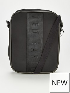 ted-baker-inland-nylon-branded-flight-bag-black