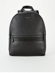 ted-baker-ted-baker-webbing-strap-leather-backpack
