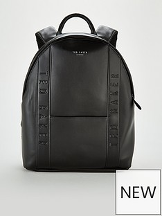 ted-baker-dominoe-backpack-black