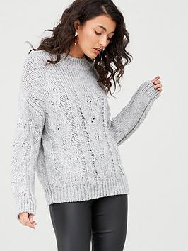 v-by-very-lofty-cable-jumper-grey-marlnbsp