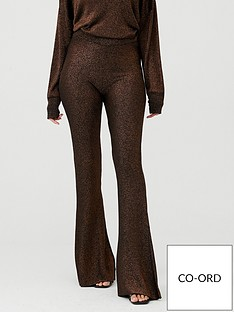 v-by-very-co-ord-metallic-knitted-trousers-black-gold