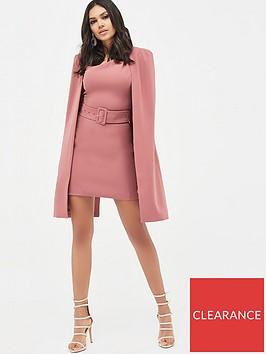 lavish-alice-asymmetric-neck-mini-cape-dress-dusty-rose