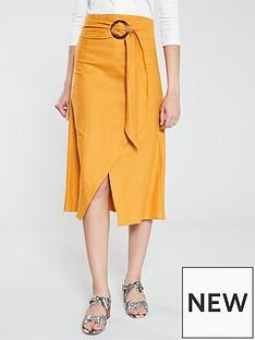 v-by-very-linen-skirt