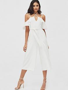 lavish-alice-strappy-neck-ruffle-culotte-jumpsuit-white