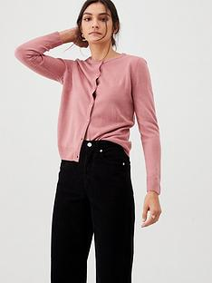 v-by-very-supersoft-crew-neck-cardigan-rose-pink