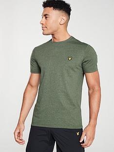 lyle-scott-fitness-martin-t-shirt-deep-spruce-melange