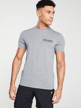 lyle-scott-fitness-small-logo-t-shirt