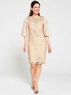gina-bacconi-beth-guipure-lace-cape-sleeve-dress-cream