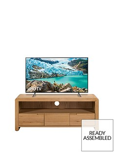 julian-bowen-newman-curve-ready-assembled-solid-oak-and-oak-veneer-tv-unit