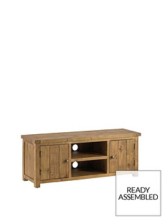 julian-bowen-aspen-solid-pine-ready-assembled-tv-unit-54-inch