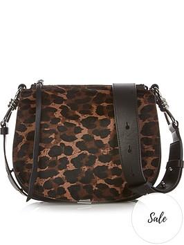 allsaints-kim-leopard-pony-hair-cross-body-bag-black