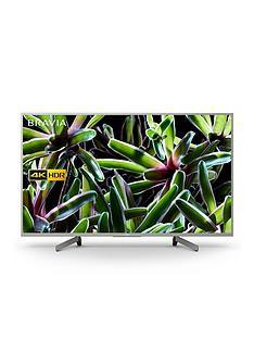 Sony BRAVIA KD49XG70, 49 inch, 4K Ultra HD, HDR, Smart TV - Silver