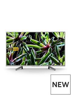 Sony BRAVIA KD49XG70, 49 inch, 4K Ultra HD, HDR, Smart TV - Silver