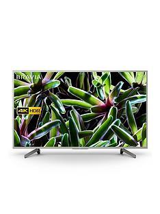 Sony BRAVIA KD55XG70, 55 inch, 4K Ultra HD, HDR, Smart TV - Silver