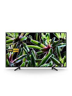 Sony BRAVIA KD65XG70, 65 inch, 4K Ultra HD, HDR, Smart TV - Black