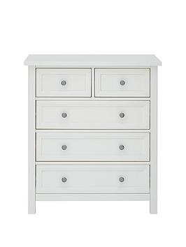 Julian Bowen Maine 3 + 2 Drawer Chest