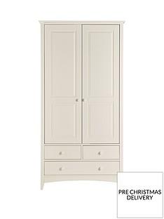 Julian Bowen Cameo 2 Door, 3 Drawer Combination Wardrobe
