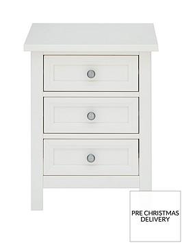 julian-bowen-maine-3-drawer-bedside-chest