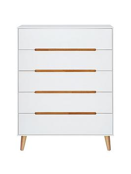 Julian Bowen Alicia 5 Drawer Chest