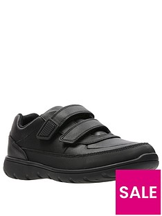 clarks-kidnbspventure-walk-strap-shoes-black-leather