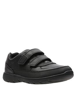 clarks-youthnbspventure-walk-strap-shoes-black-leather