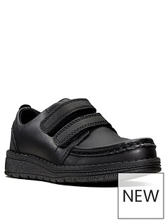 cee43db56ea9b Clarks Toddler Mendip Bright Strap School Shoes - Black