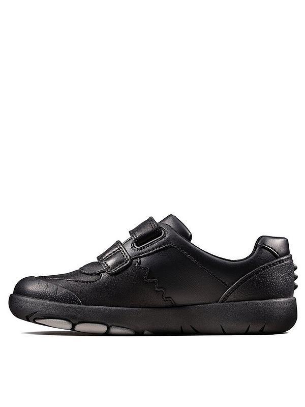 rationelle Konstruktion große Auswahl klassische Stile Rex Pace School Shoes - Black