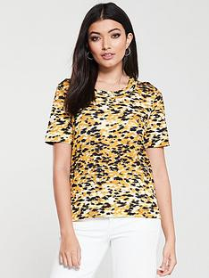whistles-ikat-print-rosa-double-trim-t-shirt-yellowmulti