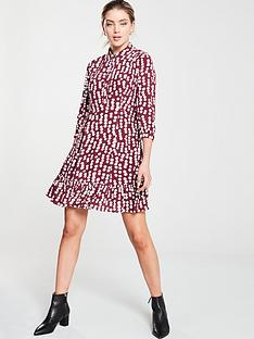 whistles-agata-illustrated-flower-dress-burgundy