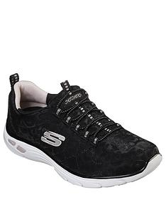 skechers-empire-dluxnbspwild-thoughts-trainers-black