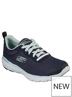 skechers-flex-appeal-30-first-insight-trainers-navy