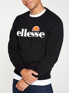 ellesse-succiso-crew-neck-sweat-black