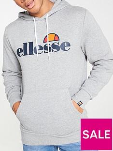 ellesse-gottero-overhead-hoodie-grey-marl